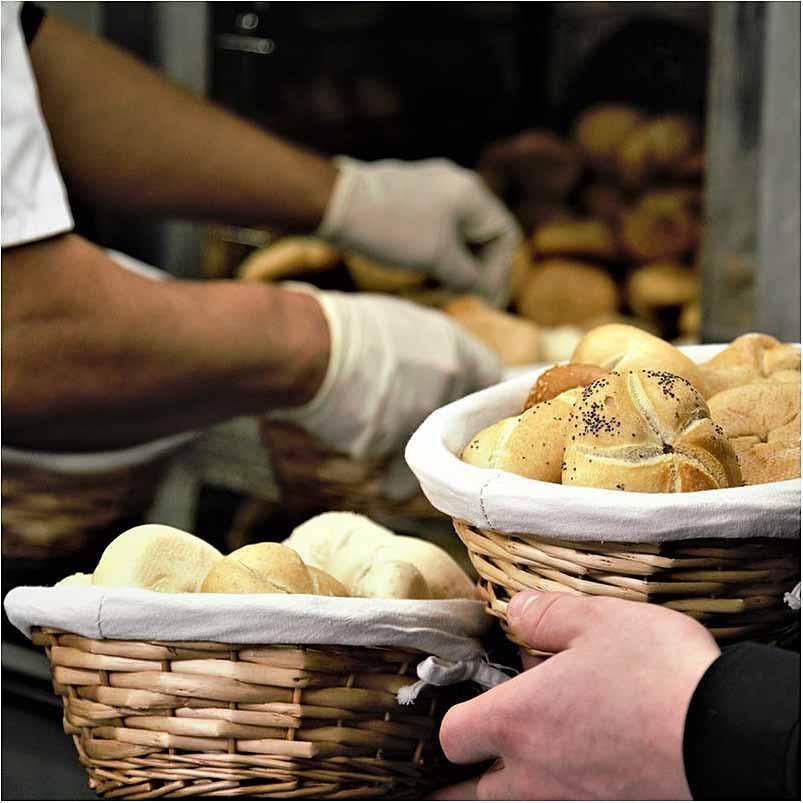 bager i Århus reklamefoto