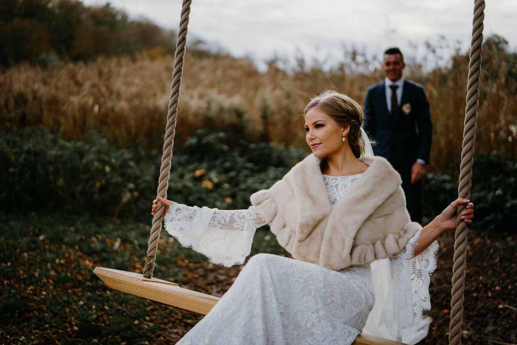 Der er skønne bryllupsbilleder at tag i Aarhus